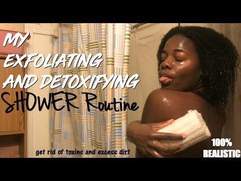 MY EXFOLIATING AND DETOXIFYING SHOWER ROUTINE | 2018