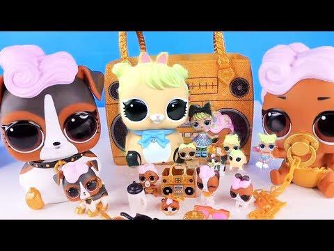 Куклы Лол Сюрприз Мультик! Огромные питомцы и их большие Семейки Lol Surprise