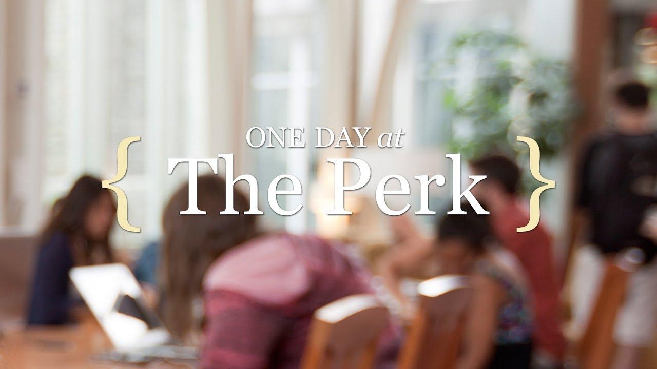 Eric Von Der Heyden one day at the perk — duke today