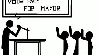 Stick animation about Politics