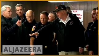 🇺🇸🔥California wildfires: 76 people killed, 1,300 missing | Al Jazeera English