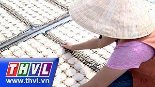 THVL | Nhịp sống đồng bằng: Bánh phồng tôm – Đặc sản Vĩnh Long