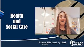 Year 9 Options Health and Social Care