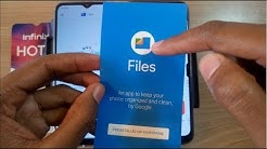 Using Files App On Android