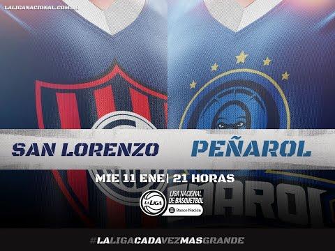 Liga Nacional: San Lorenzo vs. Peñarol | #LaLigaEnTyC