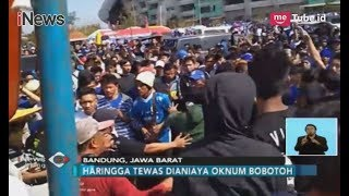 Haringga Sirla Tewas di Tangan Bobotoh, Korban Sempat Minta Pertolongan - iNews Siang 24/09