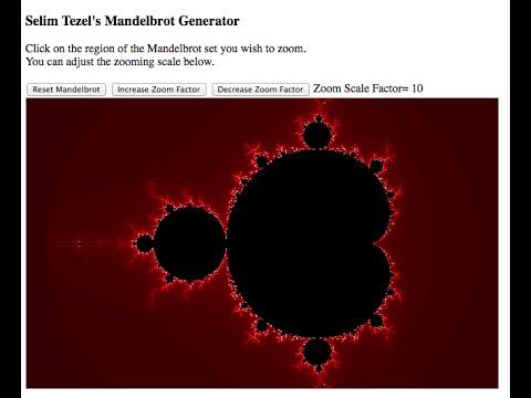Javascript: Mandelbrot Zoom