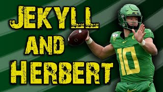 Justin Herbert is Mitch Trubisky, but cranked up to 11