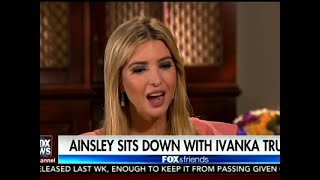 Ivanka Trump: I Try to Stay Out of Politics