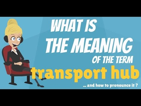 What is TRANSPORT HUB? What does TRANSPORT HUB mean? TRANSPORT HUB meaning, definition & explanation
