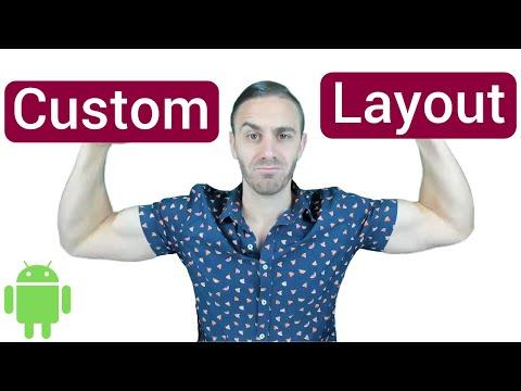 Custom Dialog Layout