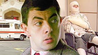 BROKEN Bean   (Try Not to Laugh)   Funny Clips   Mr Bean Official