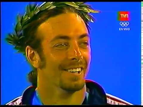 Nicolas Massu - Medalla de Oro ceremonia de premiación Atenas 2004