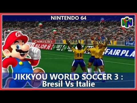 Jikkyou World Soccer 3 : Bresil Vs Italie / N64