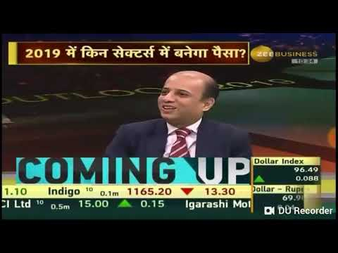 Market expert Nimesh Shah views on market for year 2019 on 31 Dec 18 at Zee Business