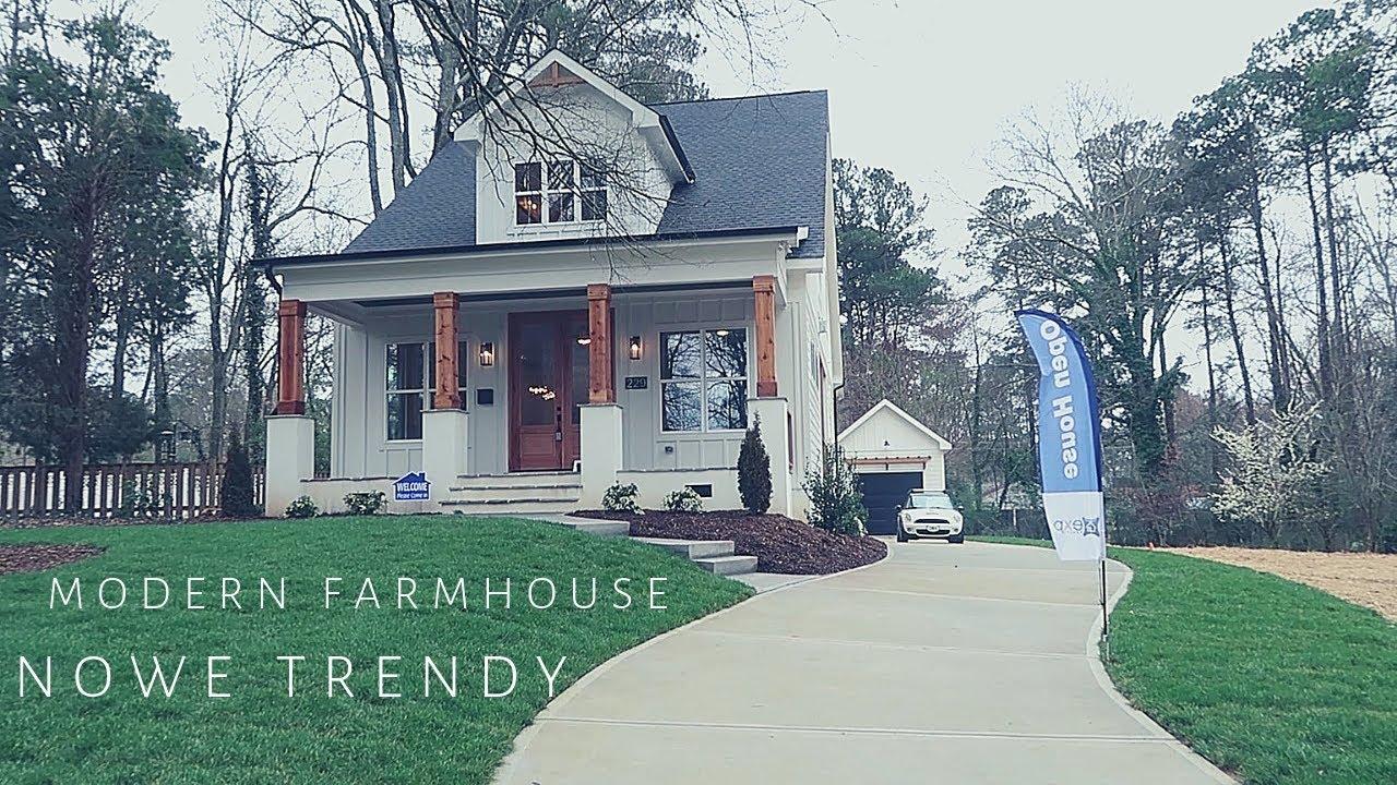 Modern Farmhouse | Trendy w amerykańskiej architekturze wnętrz