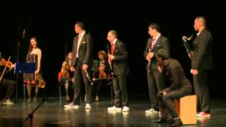 "All that Jazz - Clarinet quartet ""Nevsky"" with Mosaic string orchestra and percussion"