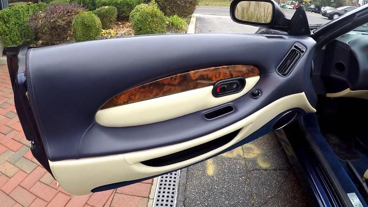 2001 Aston Martin Db7 Vantage Volante Youtube