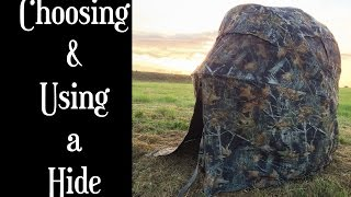 Choosing & Using a Hide for Wildlife Photography