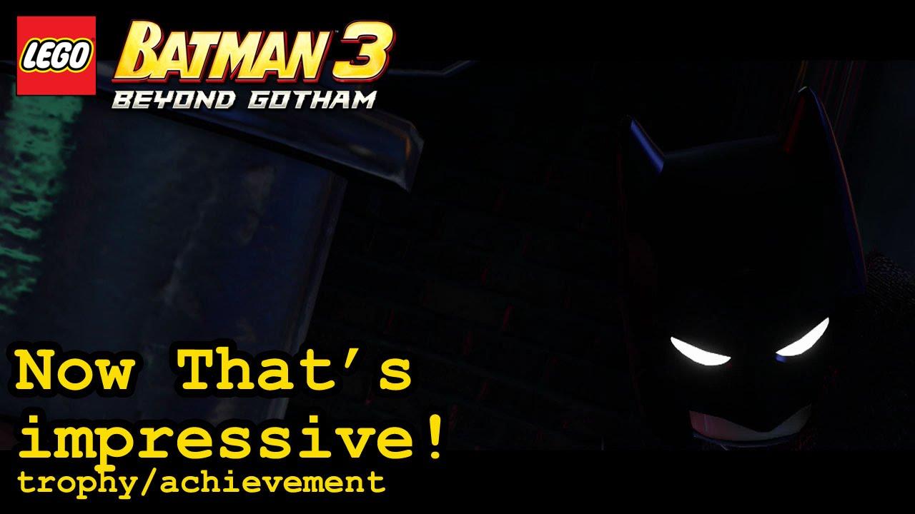 Now THAT'S impressive! trophy / achievement | Lego Batman ...