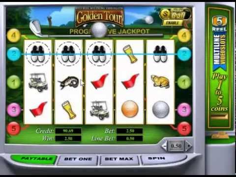 Игровой автомат Golden Tour от Playtech