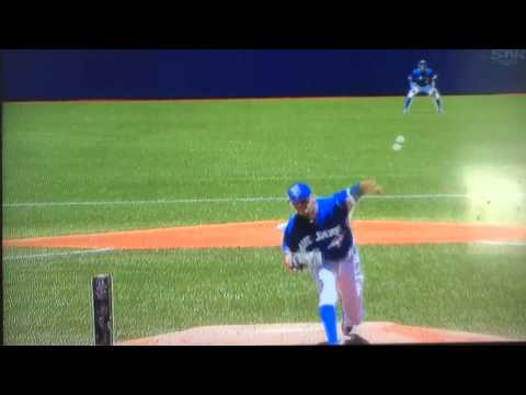 David price 1st inning as a blue jay