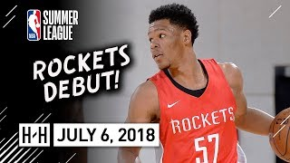 Trevon Duval Full Rockets Debut Highlights vs Pacers (2018.07.06) Summer League - 20 Pts, SICK