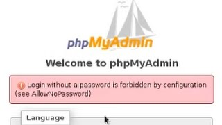 Phpmyadmin Centos 7 - login without a password is forbidden by configuration (see AllowNoPassword)
