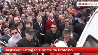 Soma'daki maden faciasını olay yerinde inceleyen Başbakan, belediye...