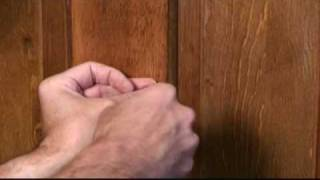 How to Mount a Mirror on a Door Video