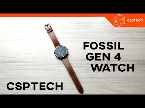 Fossil Venture HR 40mm SmartWatch Review (Late 2018)