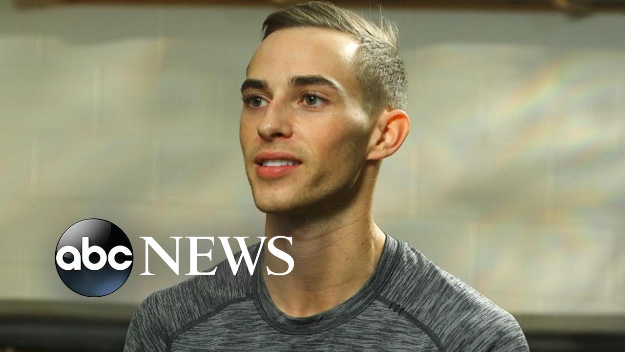 US Olympic figure skater Adam Rippon is ready to compete for the gold