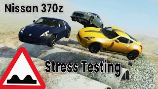 BeamNG Drive - Suspension Testing The Nissan 370z