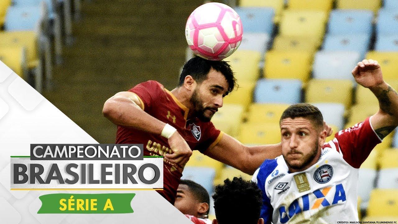 b30248f5ff Melhores Momentos - Fluminense 1 x 1 Bahia - Campeonato Brasileiro (29 10  2017)