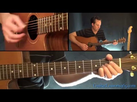 Margaritaville Guitar Lesson - Jimmy Buffett