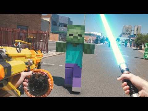 Thumbnail: Minecraft In Real Life with Mods | Nerf, Mario, LEGO & More