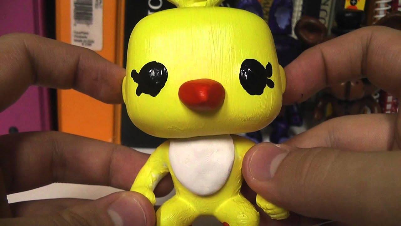 Custom Five Nights At Freddys Pop Funko Figures By Sherlock Homes Bott Fnaf Freddy
