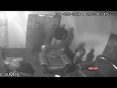 Caught on tape taxi boss murder - Bellville