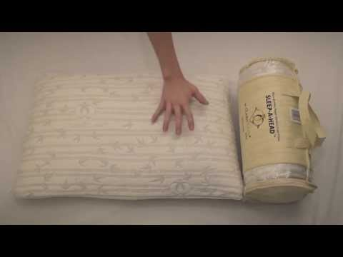 Amazon Video Review: Clara Clark® Micro Bamboo Rayon Shredded Memory Foam Pillow