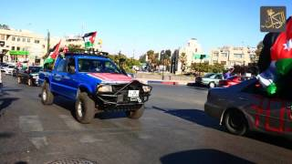 الأردنيون يحتفلون بعيد الإستقلال