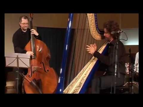 Jakez Francois plays jazz harp - The Minstrel Suicide (J. Thomas / J. Francois