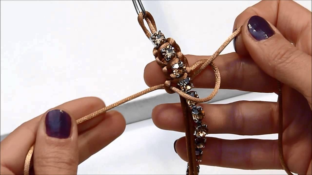 Popolare TUTORIAL - Bracciale in Macramé - YouTube XA53