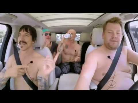 Red Hot Chili Peppers with James Corden  fly away on my zephyr