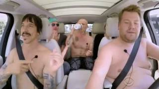 Red Hot Chili Peppers with James Corden [ fly away on my zephyr ]