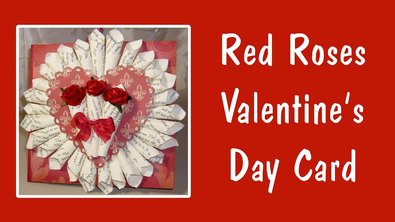 Cute valentine 39 s day card ideas youtube for What to put on a valentines card