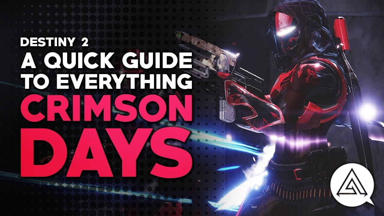 Destiny Dance Gif: A Quick Guide To Everything Crimson Days - YouTube