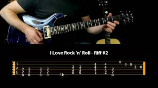Learn To Play Guitar - I Love Rock n Roll - Joan Jett And The Blackhearts
