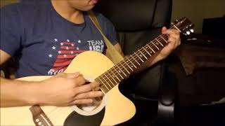 Counting Crows - Rain King Guitar Cover