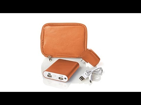 PowerNOW! Portable Tablet, Phone   Device Charger w/Case