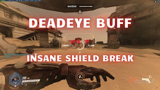 Overwatch [PTR 1.34] | McCree Ultimate Buff DEVASTATING - KILLS Players Behind 5K HP Shield!